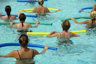 Mulheres exercício aeróbico